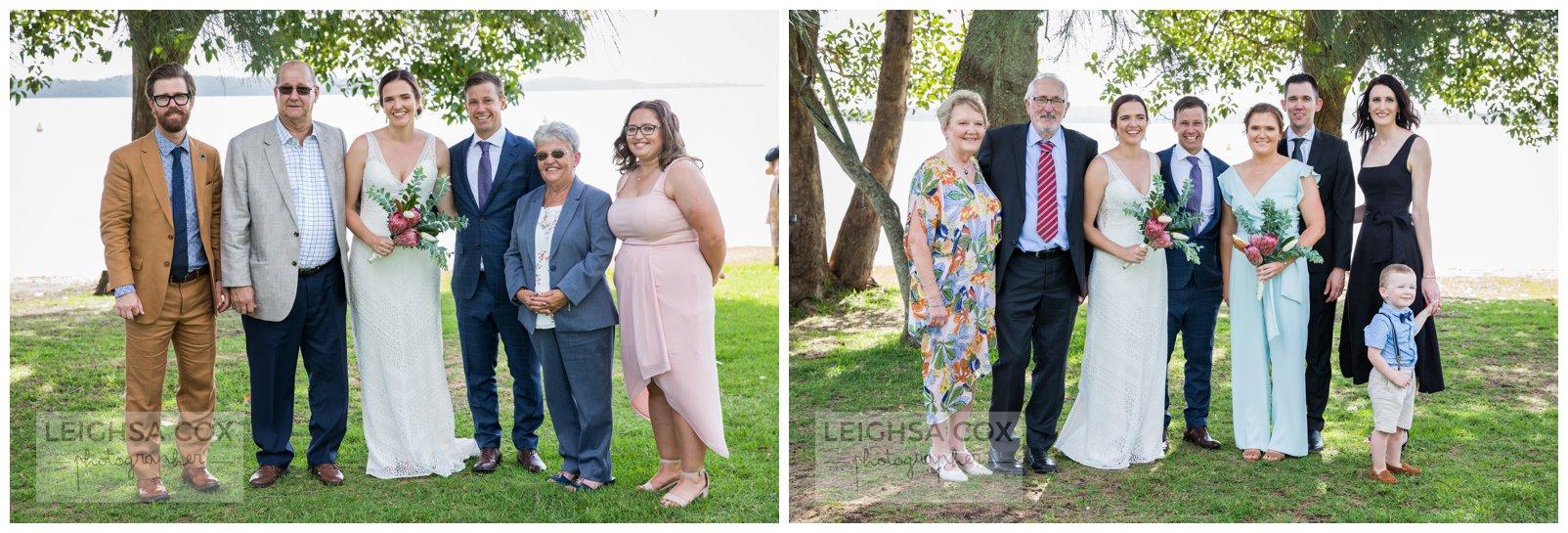family photos wedding
