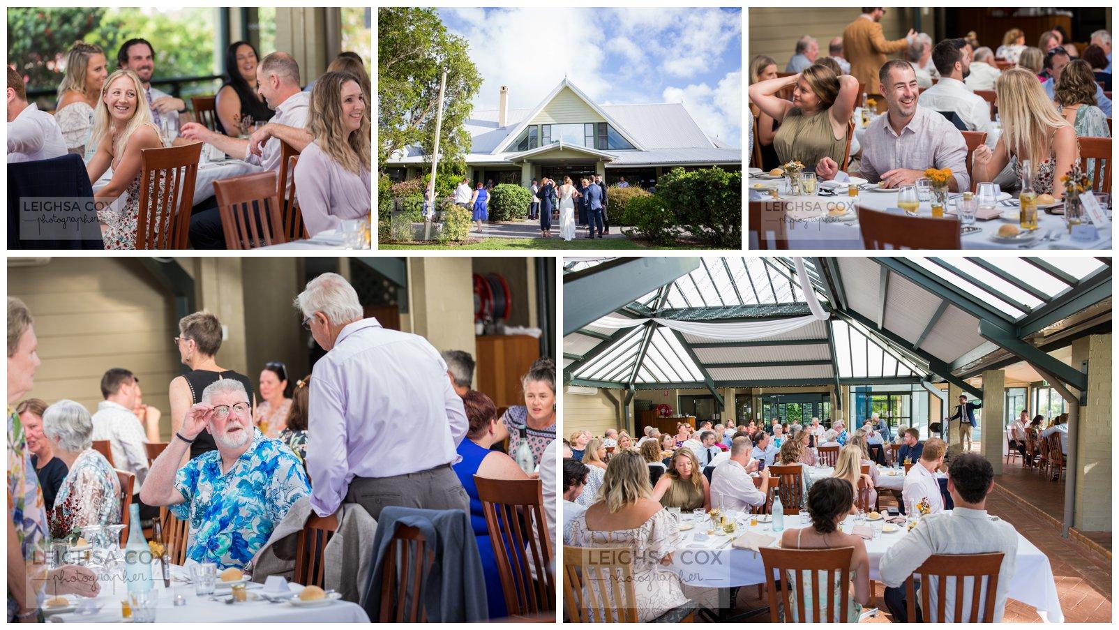 wedding reception lake macquarie