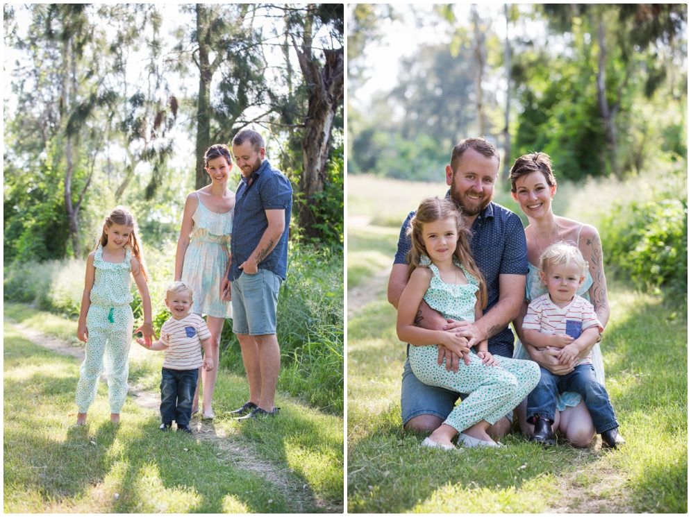 gorgeous hunter valley family portraits
