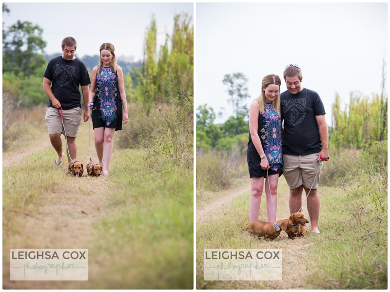 Couple Portraits -True love and Dachshunds