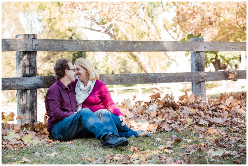 Autumn Couple Portraits