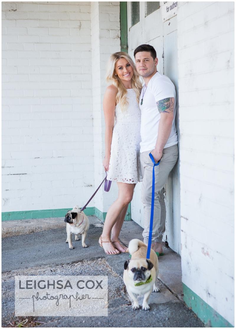 Morpeth Pug Love Couple Session