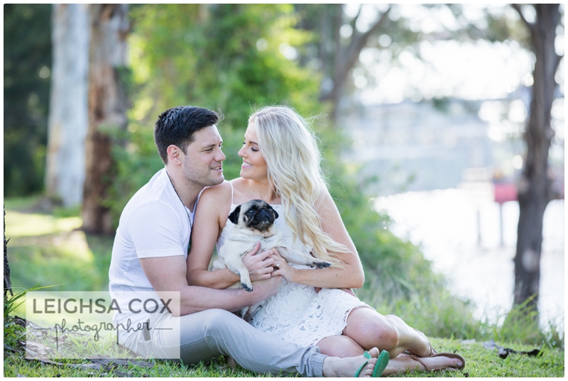Morpeth Pug Love Couple Session