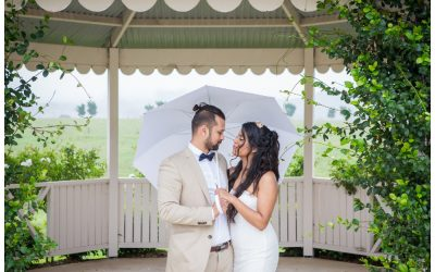Rainy Calvin Estate Wedding