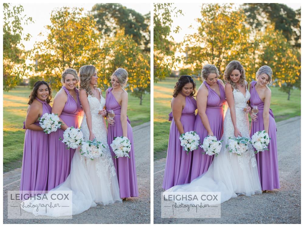 Calvin Estate bridesmaids