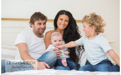 Hunter Valley Family and New Baby