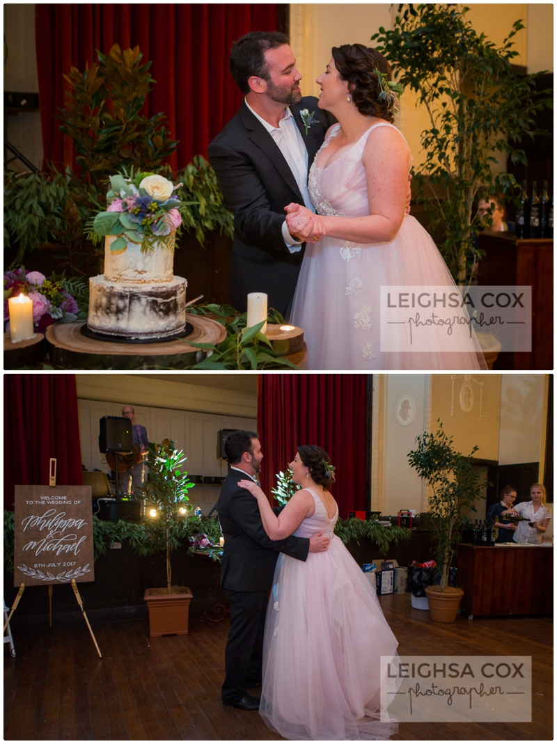 Paterson Community hall Wedding