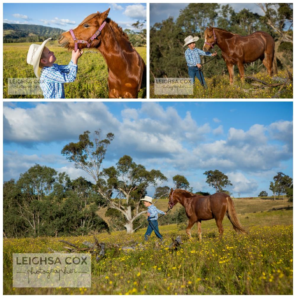 Farm Family Portraits Horses