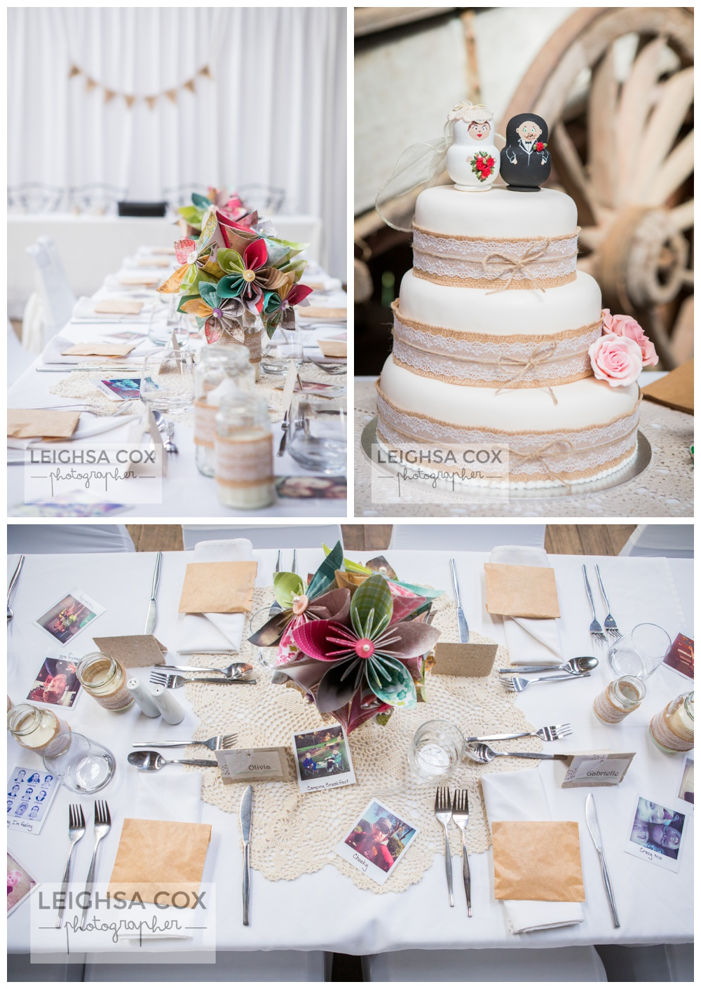 Country Wedding- Riverwood Downs - Leighsa Cox Photographer