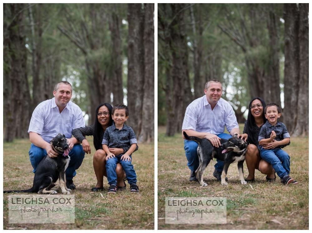 Morpeth Family and Dog