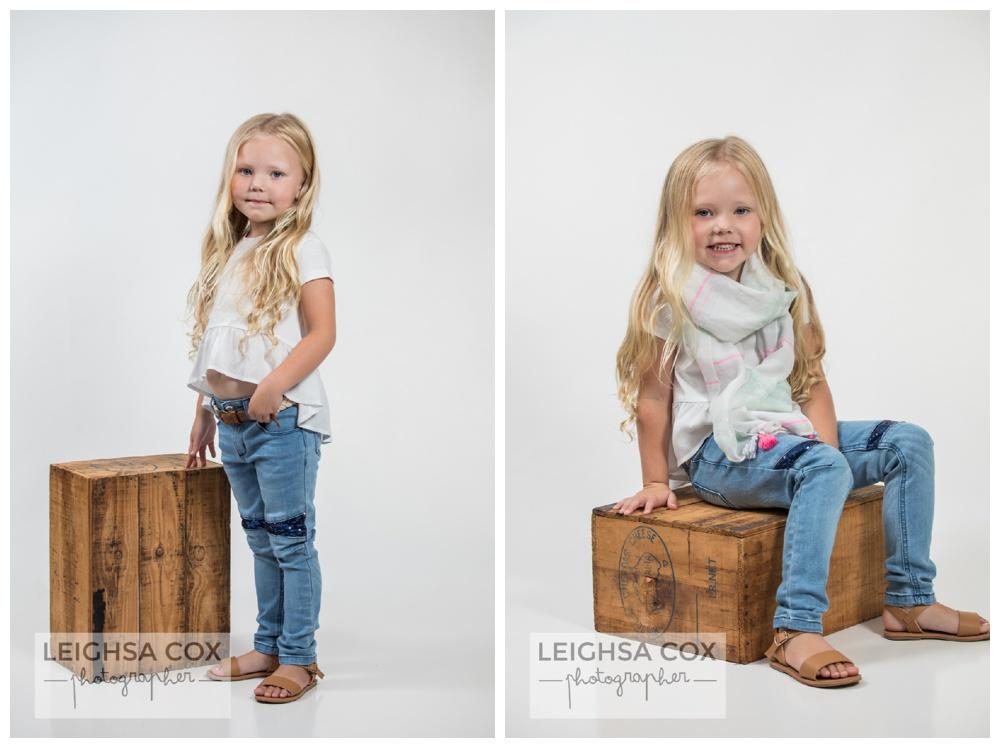 kids studio portraits maitland