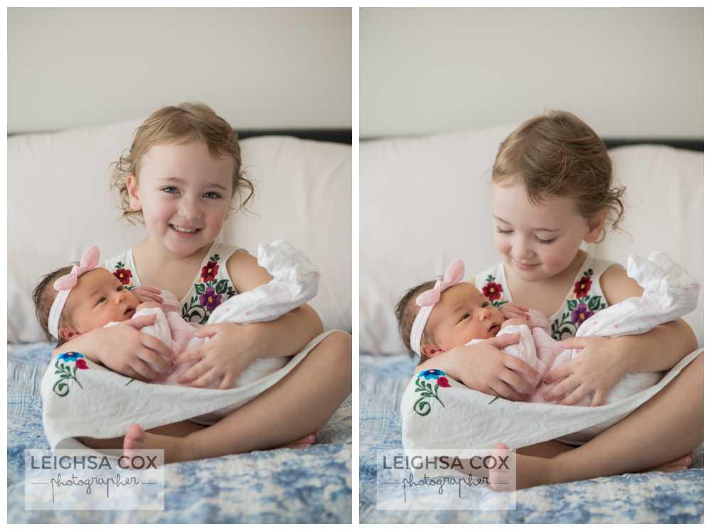 Maitland Newborn baby sister