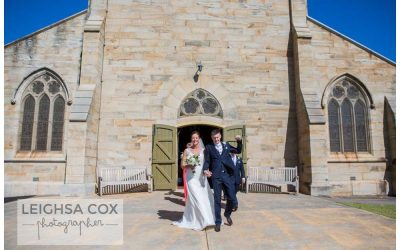 East Maitland Wedding – St Peters