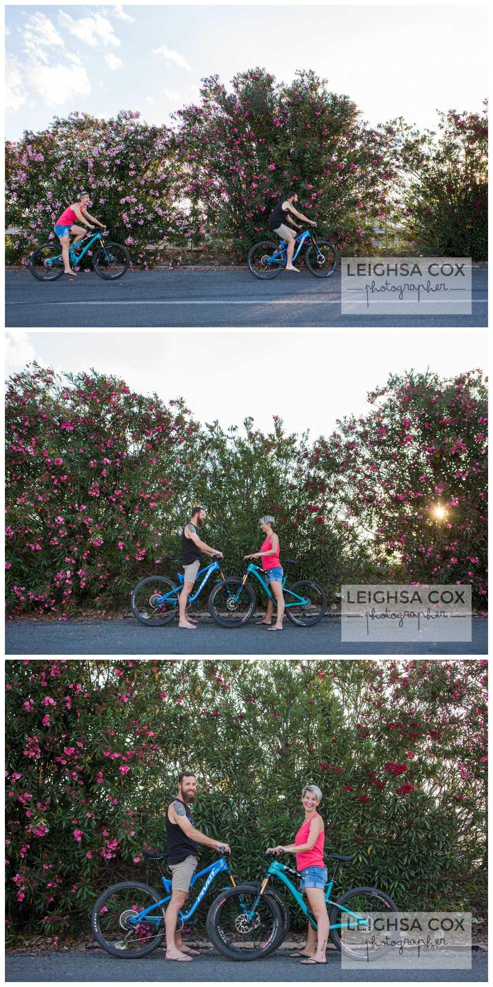 Singleton Couple plus Bikes