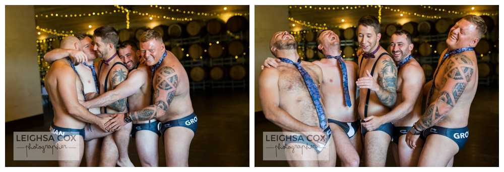 groomsmen shenanigans
