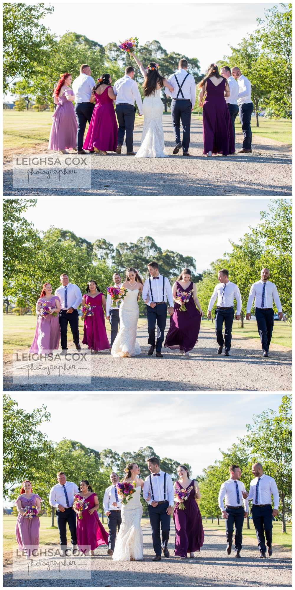 Bright and Fun Calvin Estate wedding