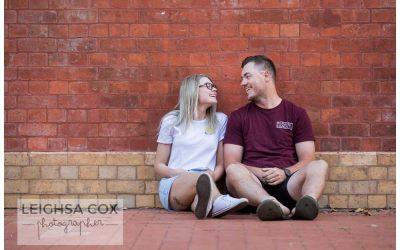 Engaged- Maitland Couple fun