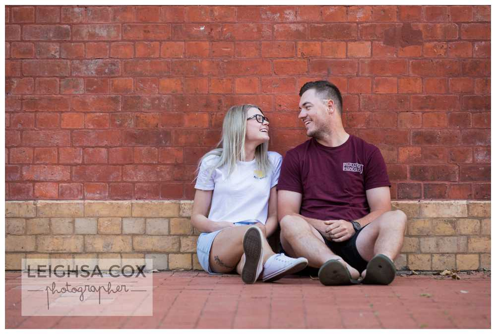 Engaged Maitland Couple