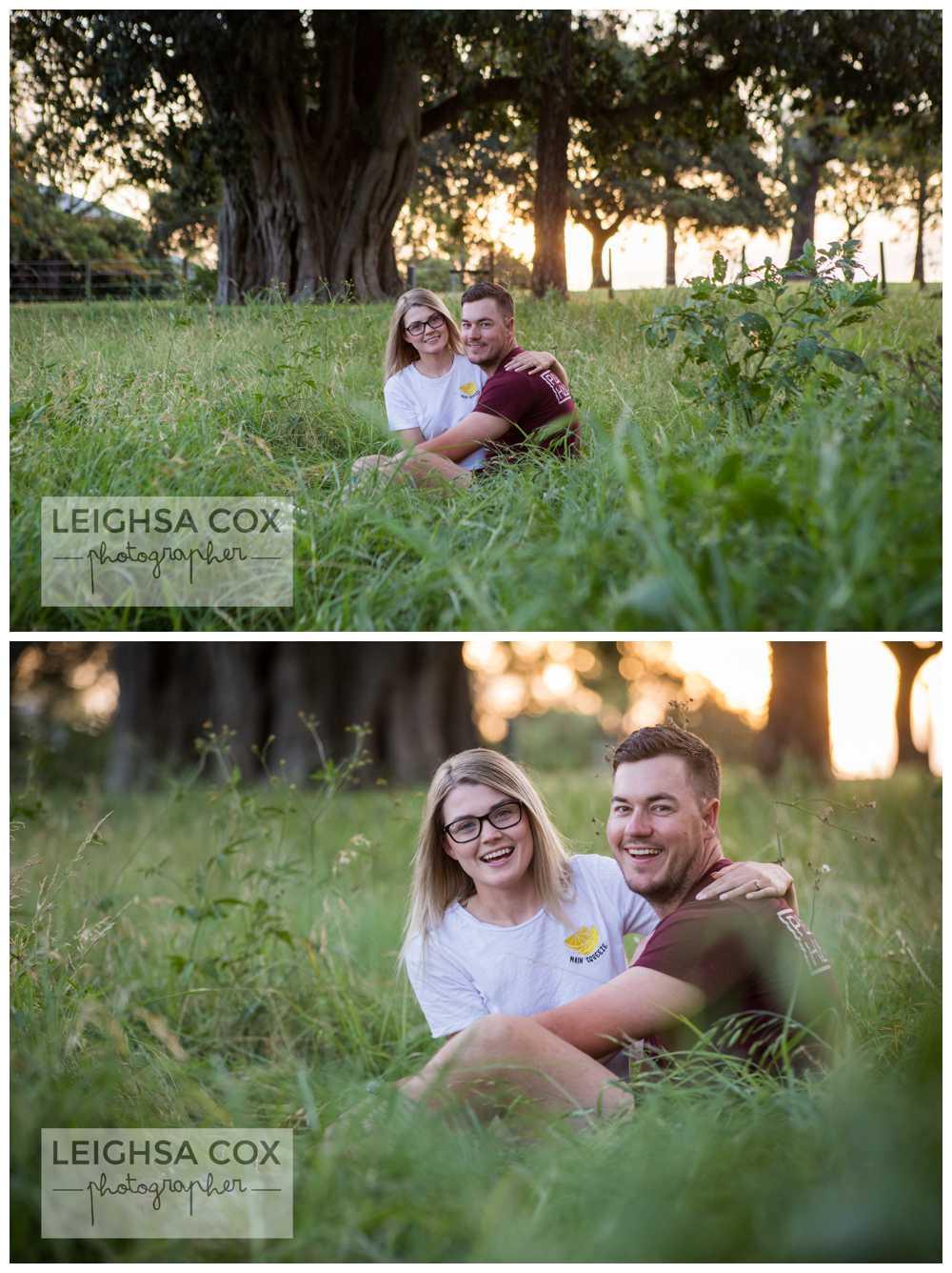 Engaged Maitland Couple