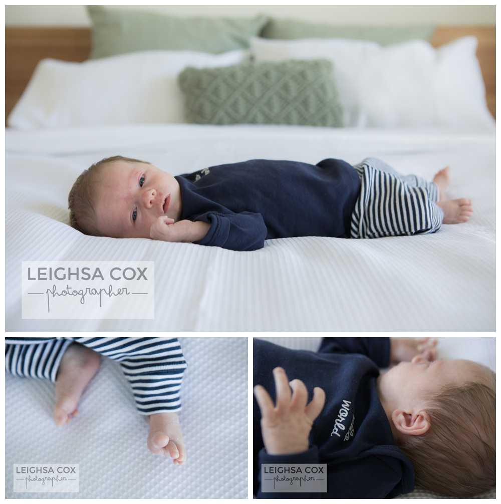 Beautiful Home Newborn Session