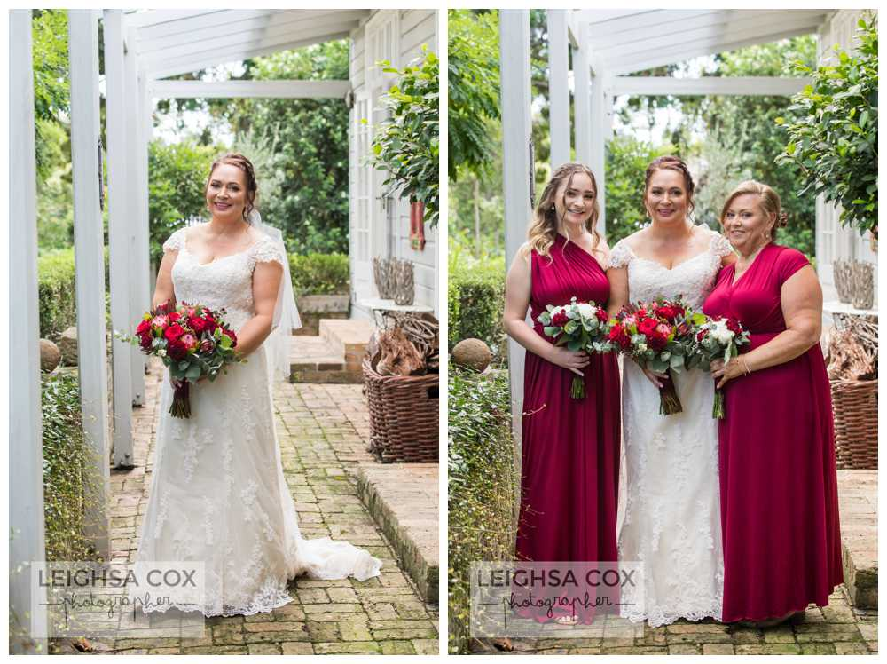 bride the villa morpeth