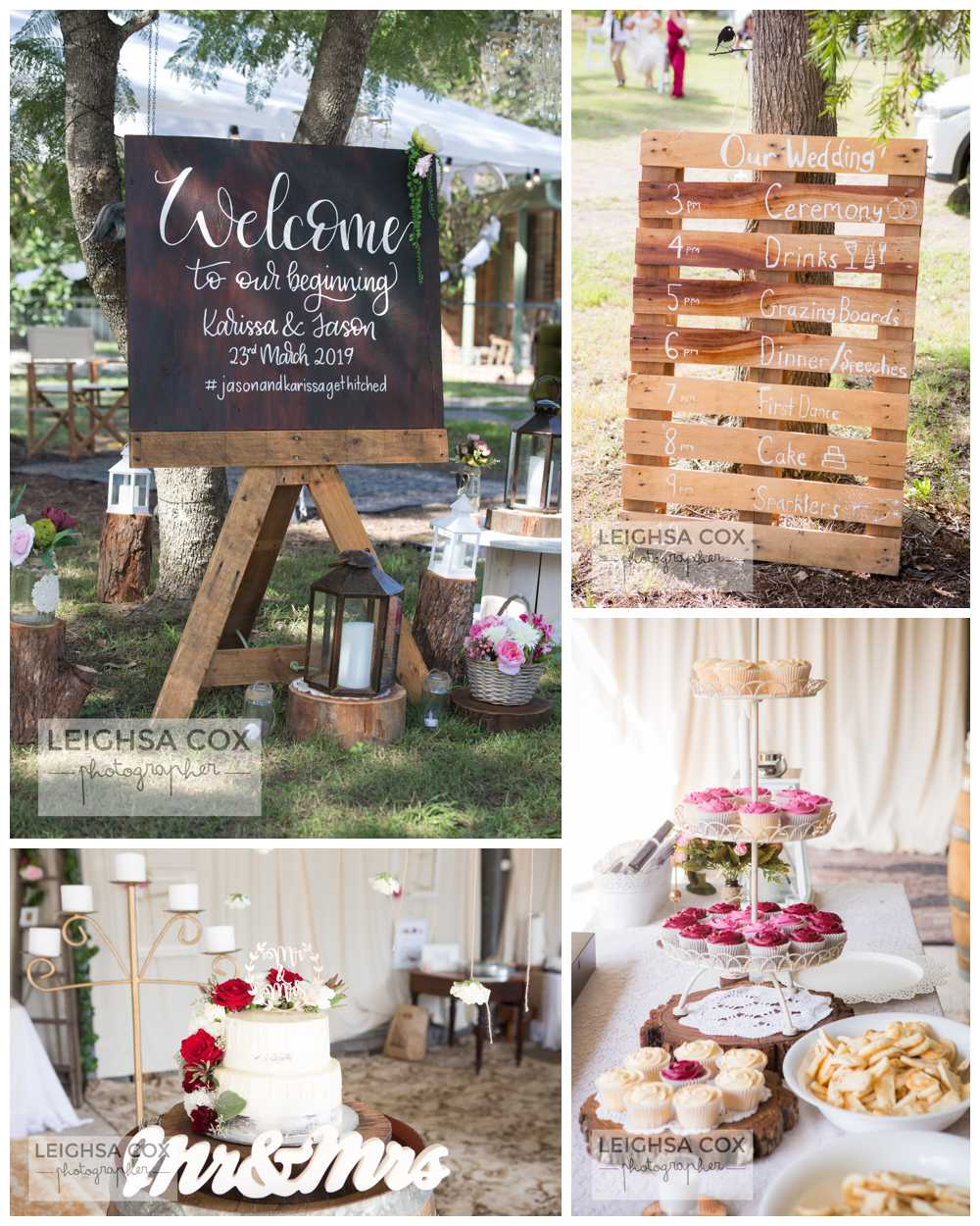 Beautiful Backyard Wedding