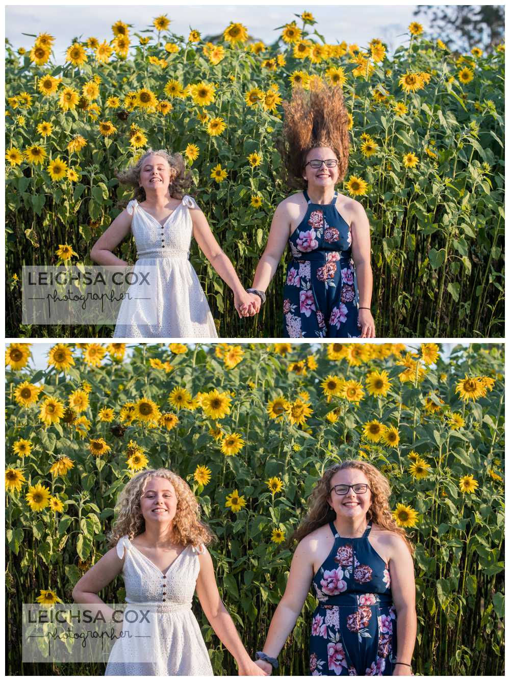 fun sunflower teens