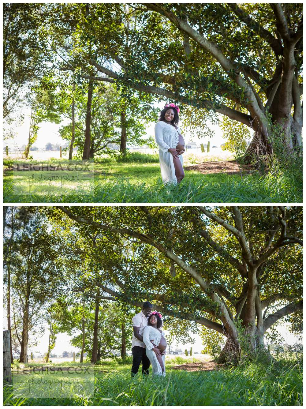 hunter valley pregnancy photos