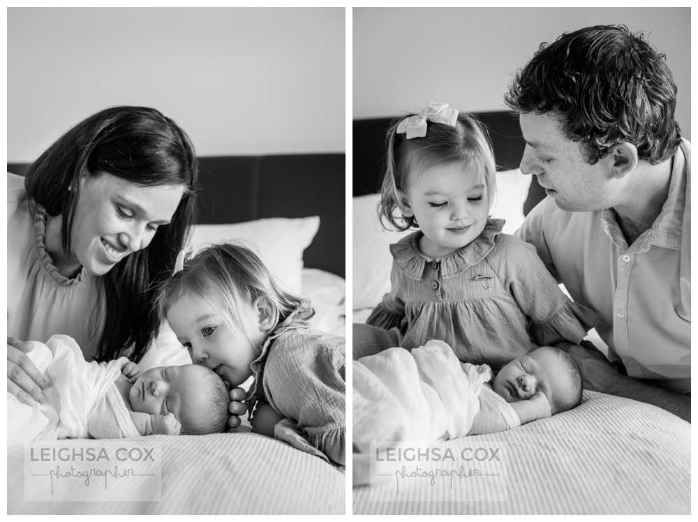 family newborn portraits hunter valley