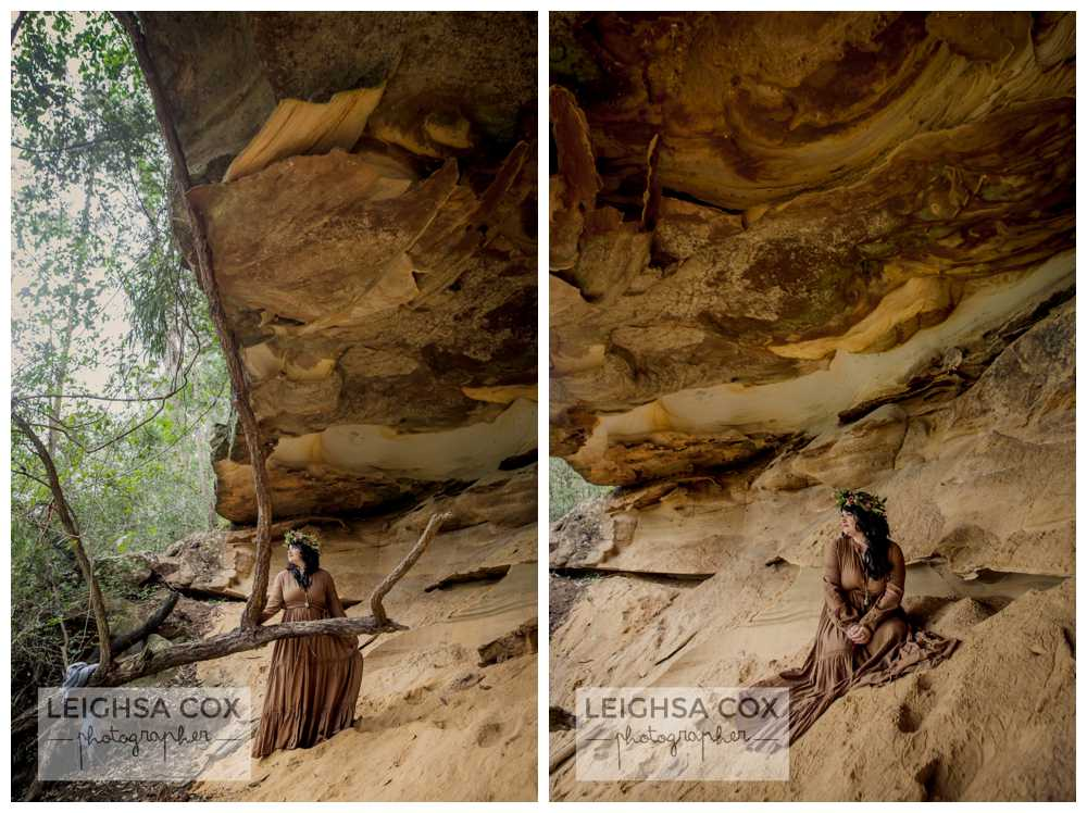 hunter valley cave photo shoot