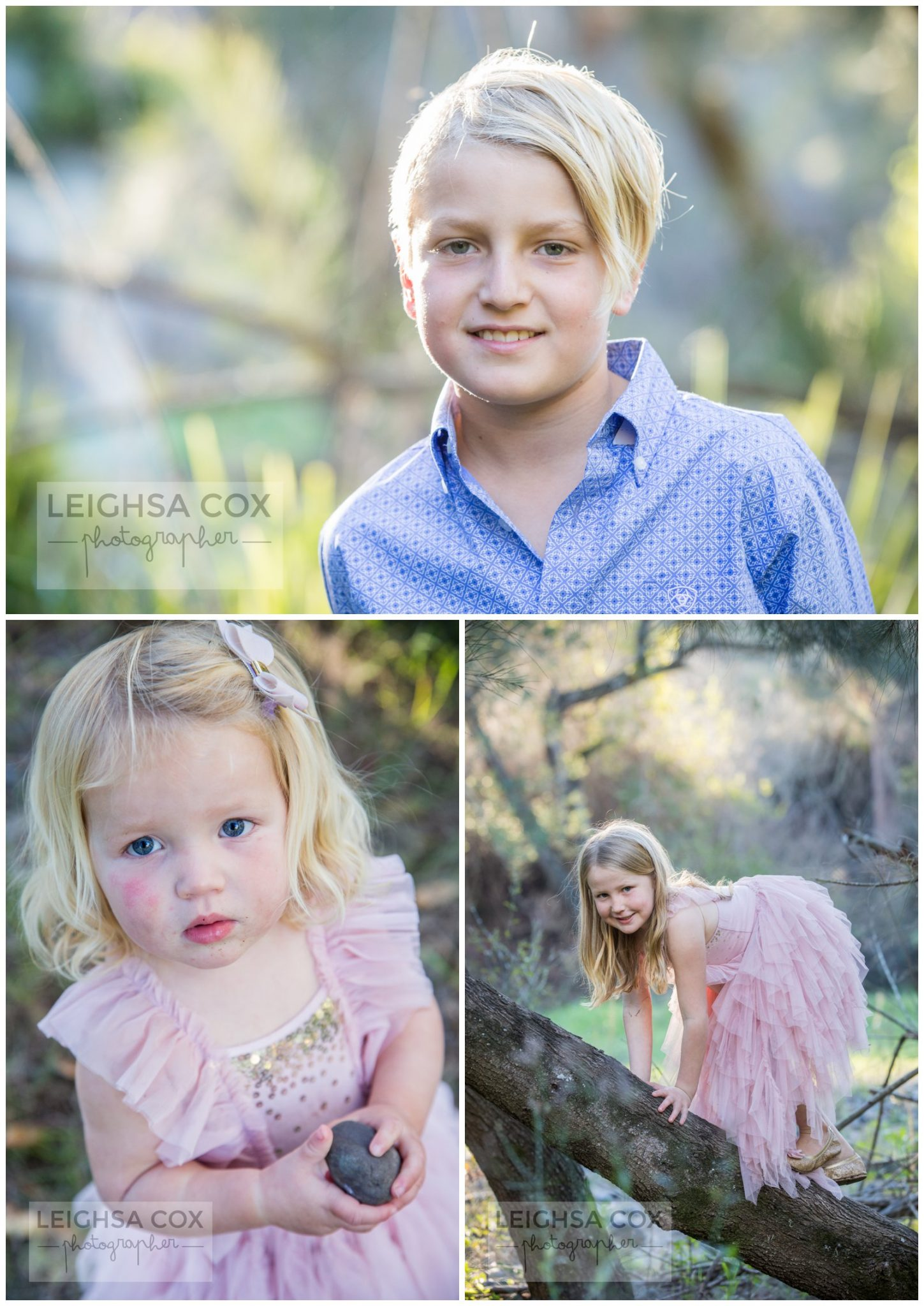 country kids portraits