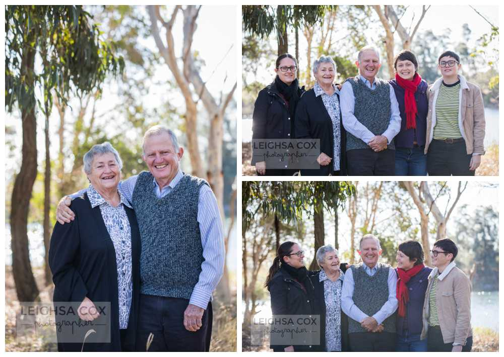 Hunter Valley Extended Family Portraits