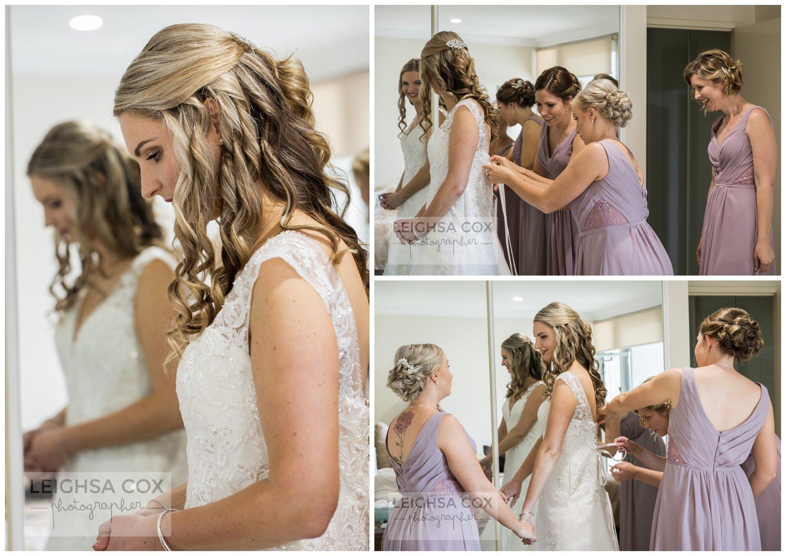 bride prep newcastle wedding