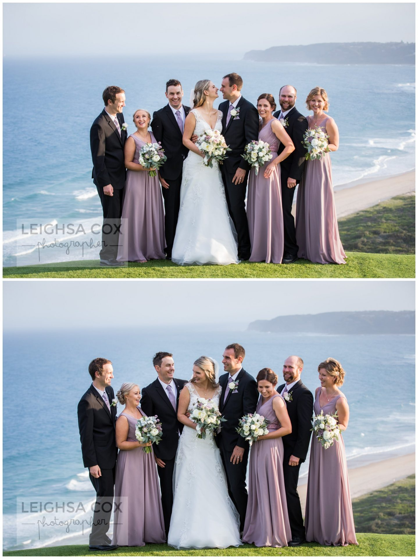 hickson st lookout wedding