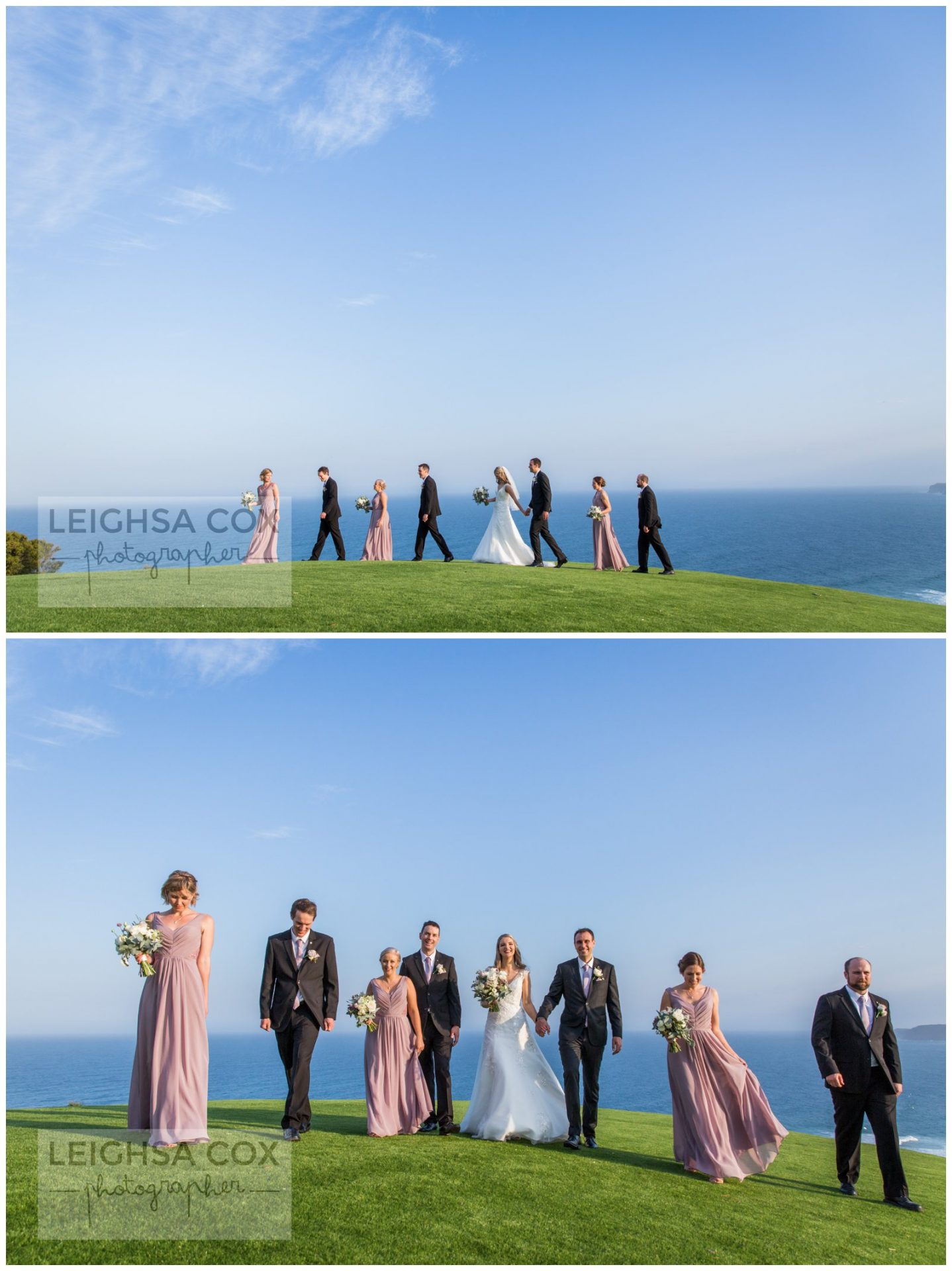 bridal party hickson st lookout