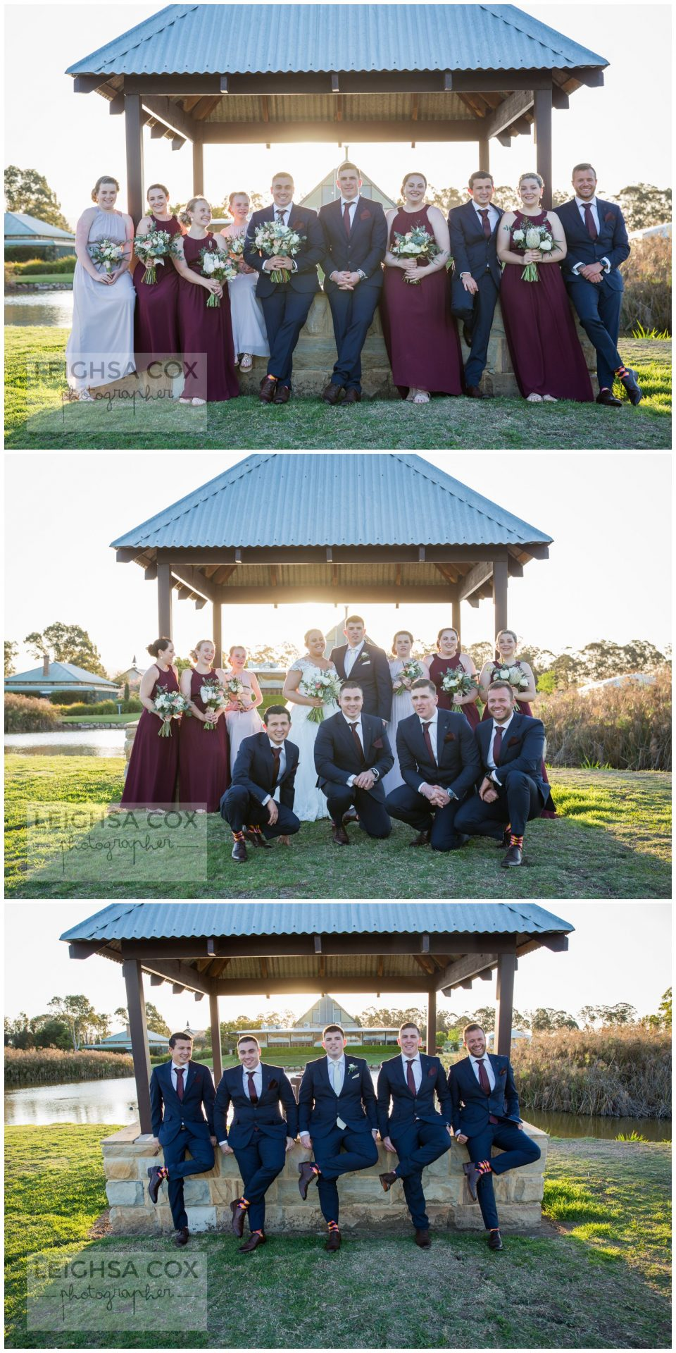 Bridal party peterson house