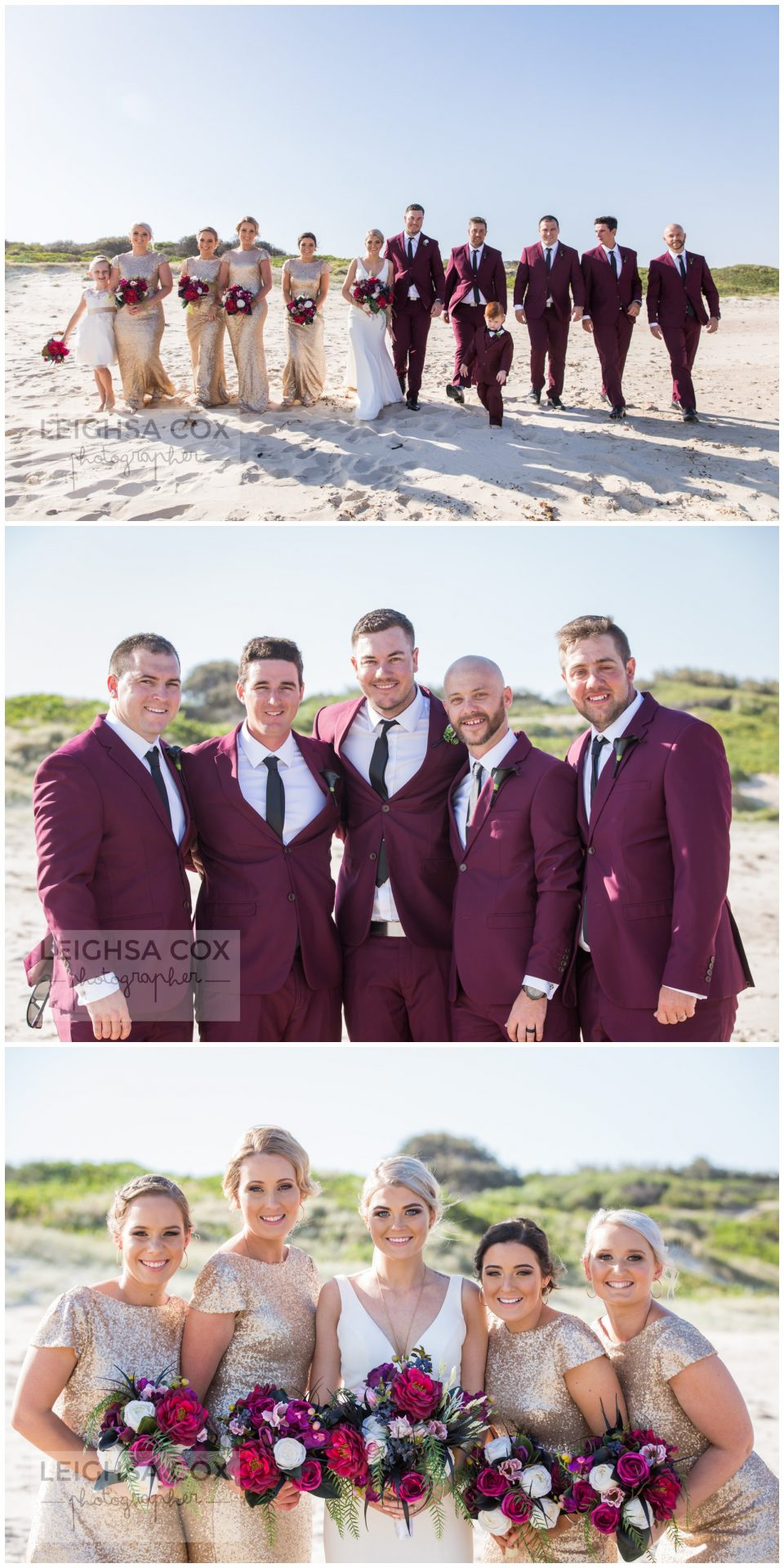 Caves Beach Wedding