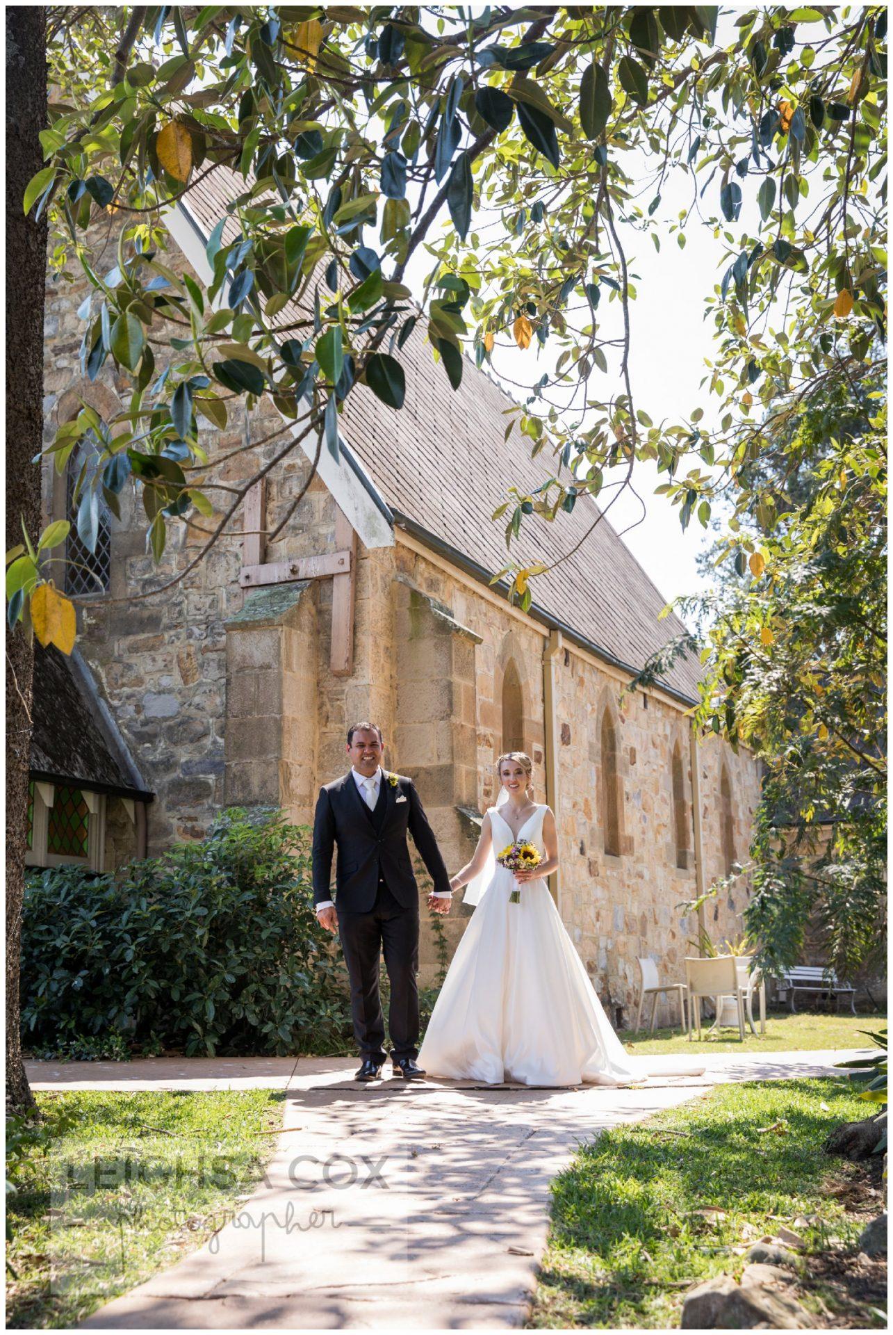 Woodville chapel wedding