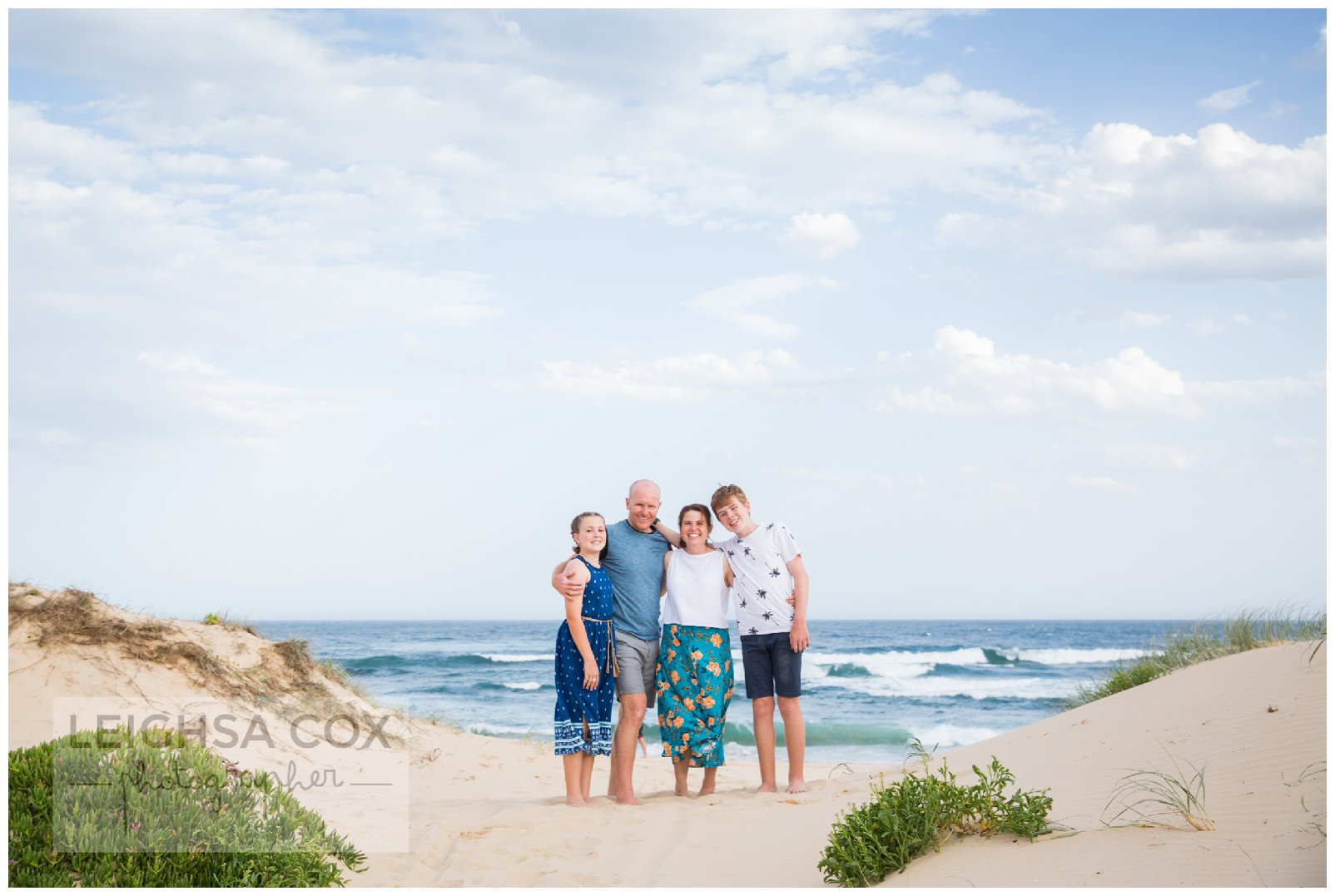 Family Beach Session Newcastle