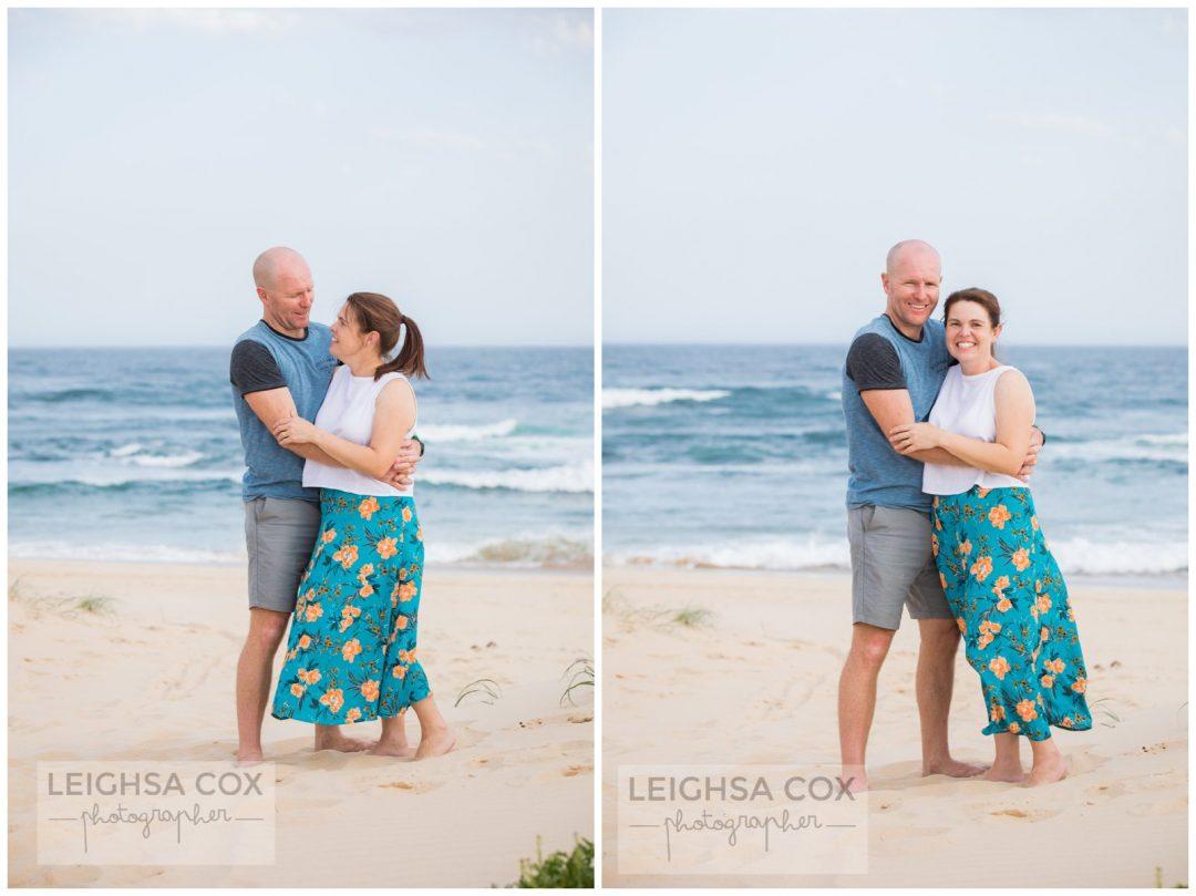 newcastle beach portraits