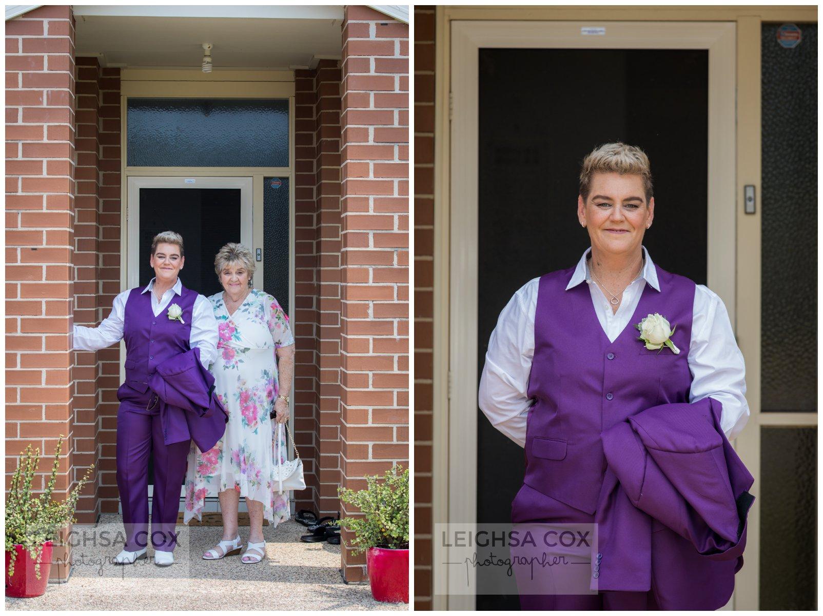 bride suit