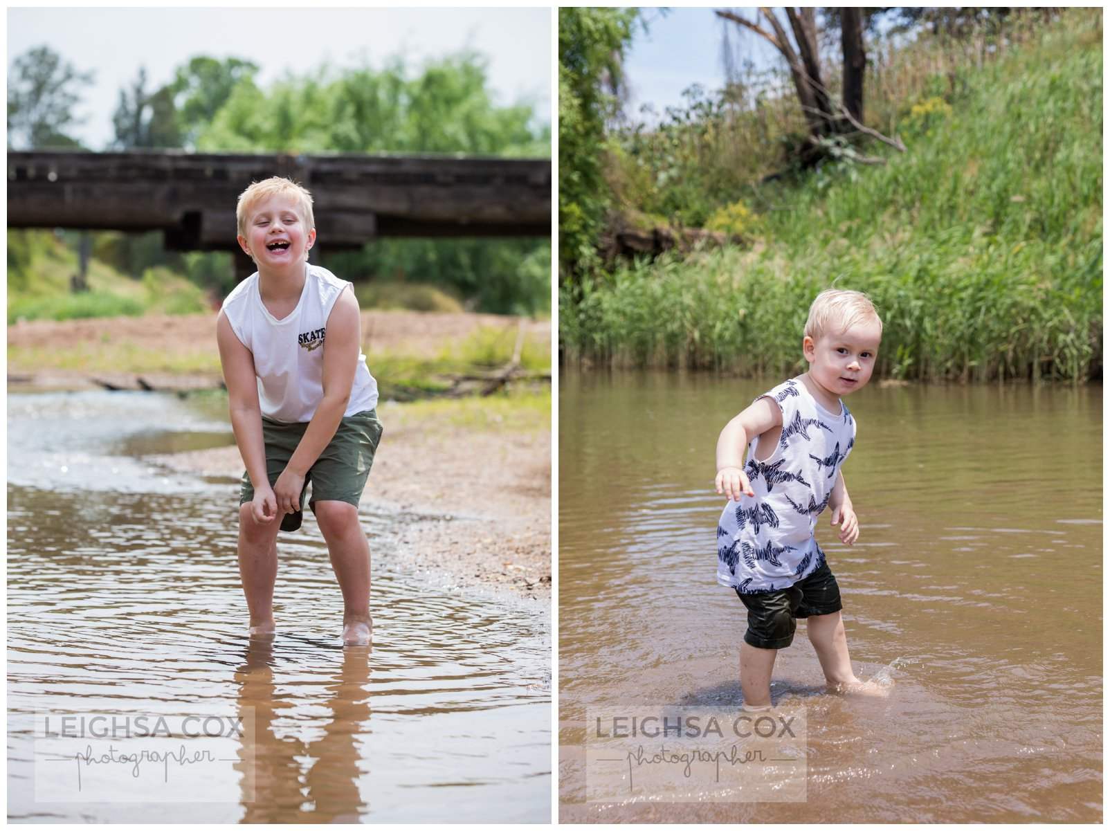 boys in the river