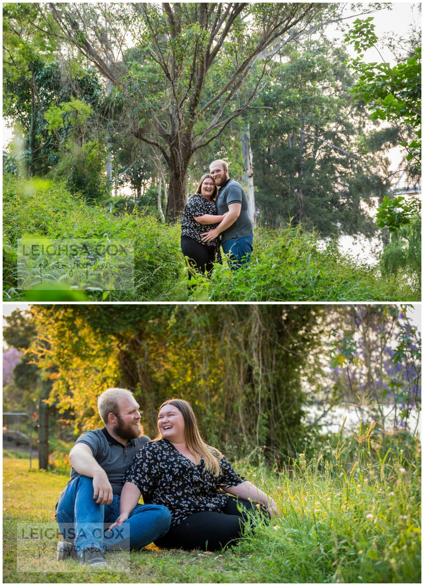 engaged couple morpeth