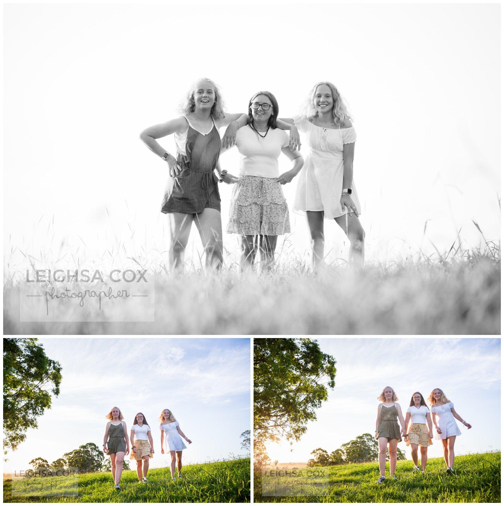 teenage girls walking maitland
