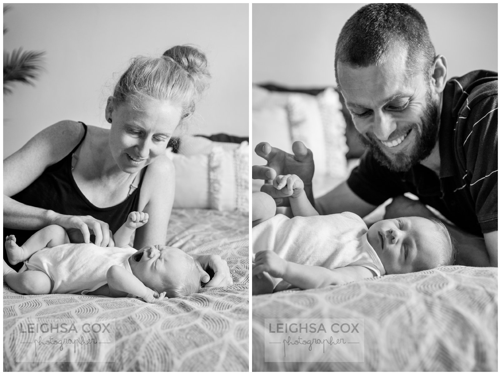 parent cuddles newborn baby boy newcastle
