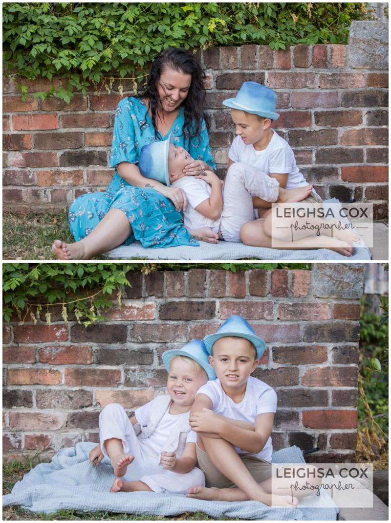 boys in hats maitland family portraits