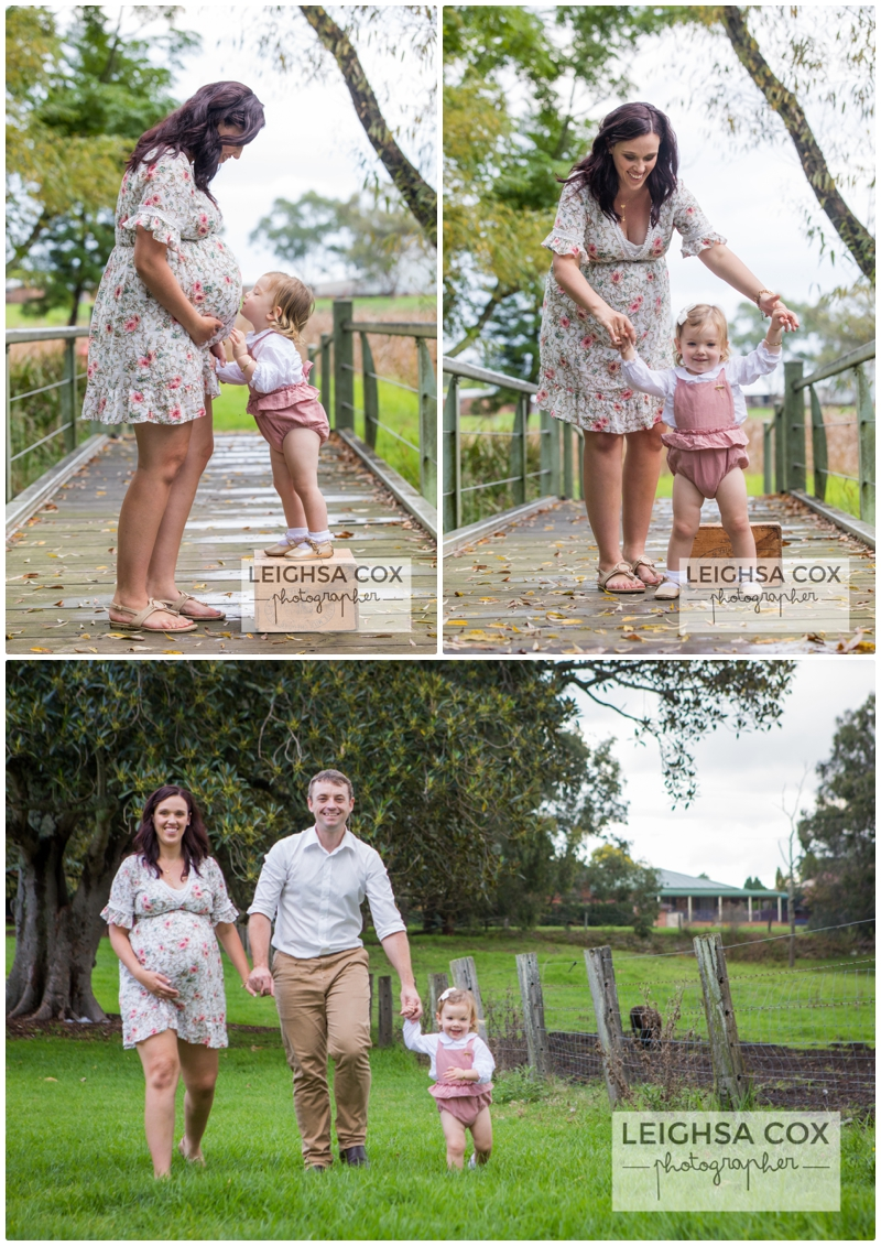 What to wear for family photos pinks and florals