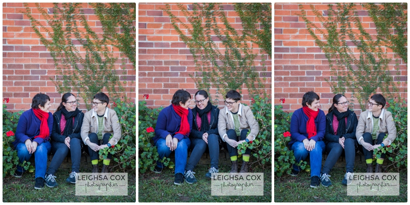 scarves and jackets hunter valley family portraits