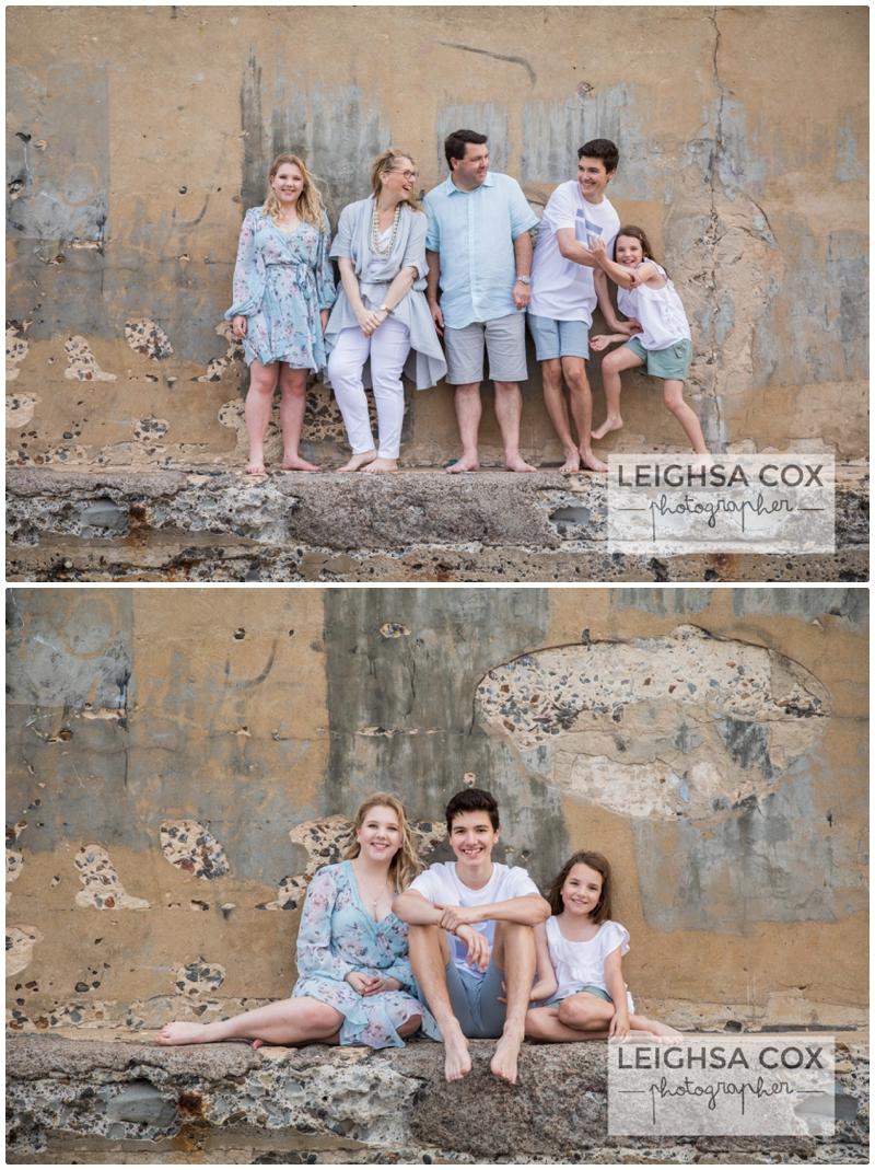 neutral clothing beach portraits