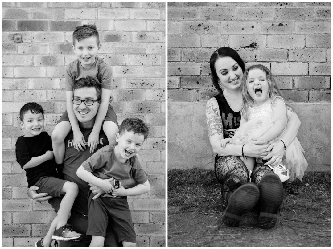 fun family portraits maitland